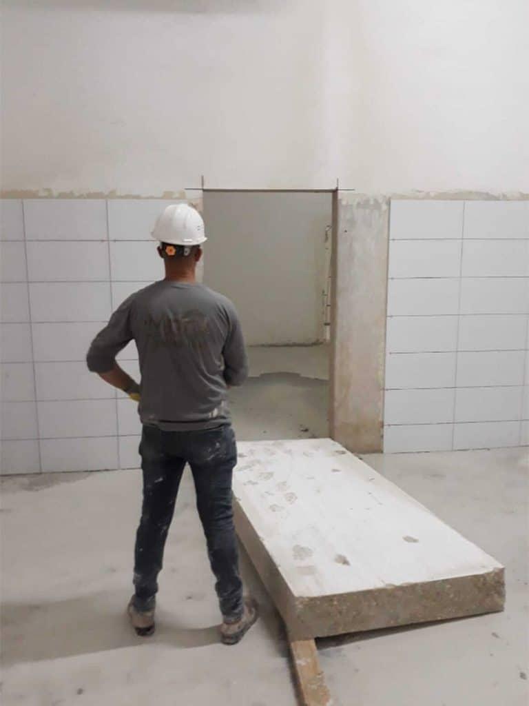 פתיחת דלתות יהלומי ניסור בטון