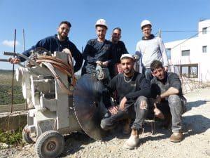 צוות ניסור בטון