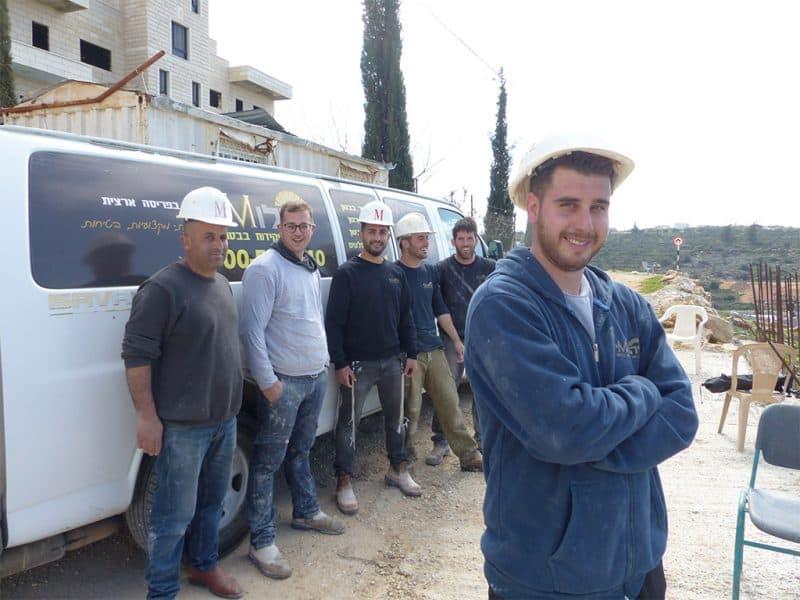 צוות ניסור בבטון