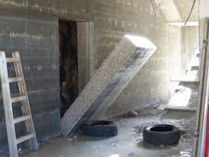 ניתוק קיר בטון ליצירת פתח לדלת