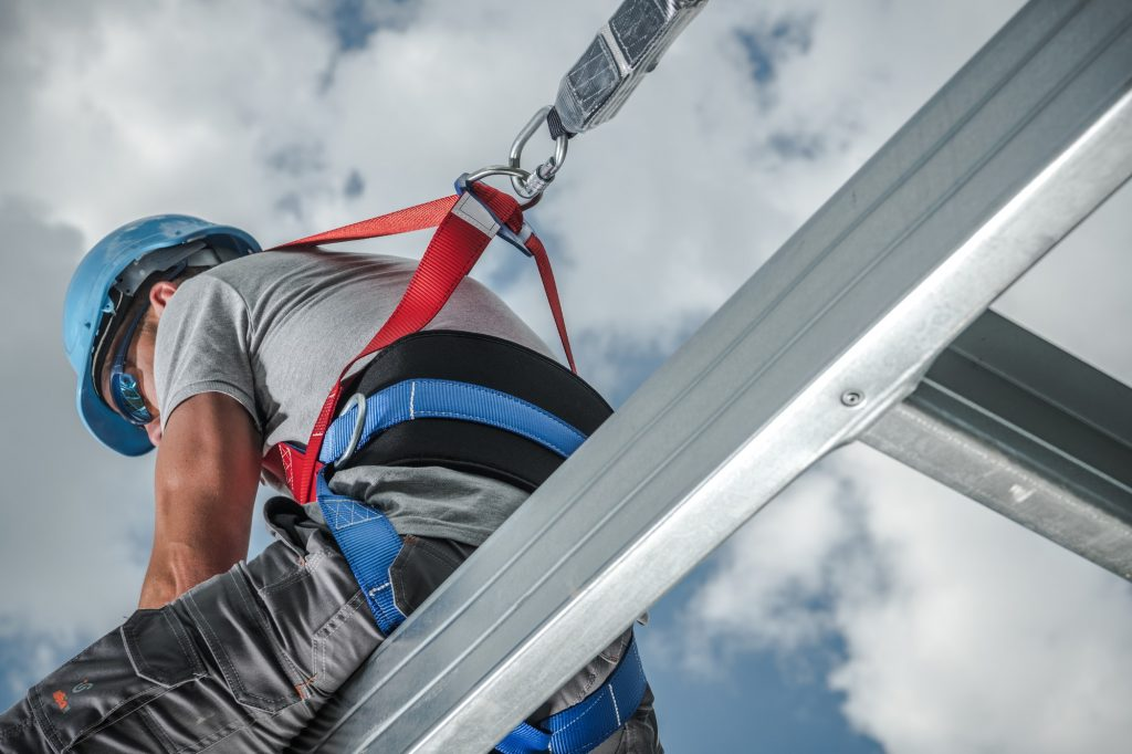 Safety Harness Absorbing Lanyard