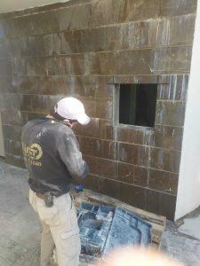 יצירת חלון בקיר בטון