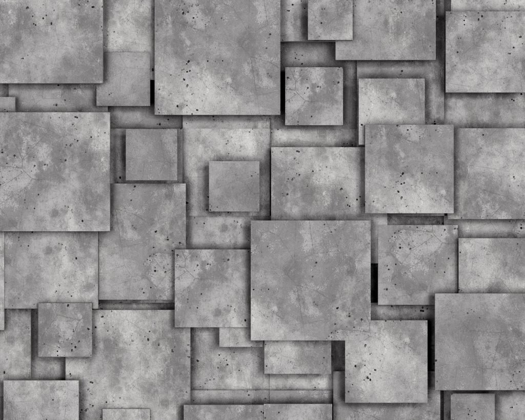Grey concrete wall as background or wallpaper.
