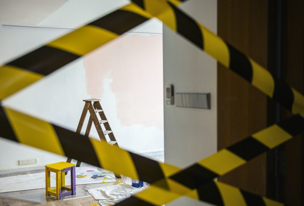 House renovation concept