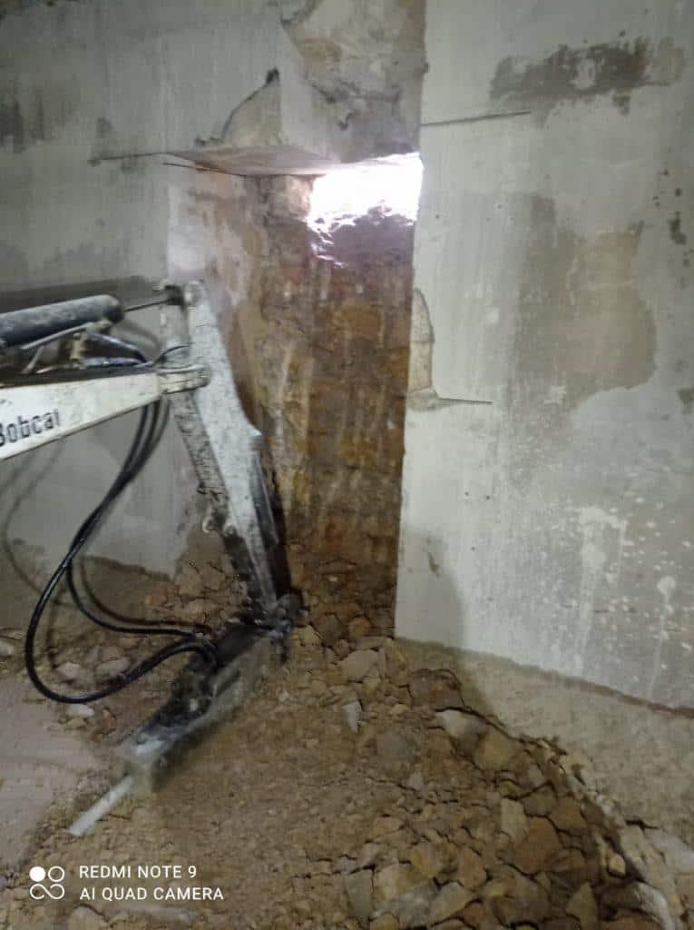 ניסור קיר בטון