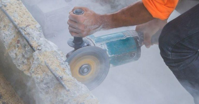 אבק בניסור בטון