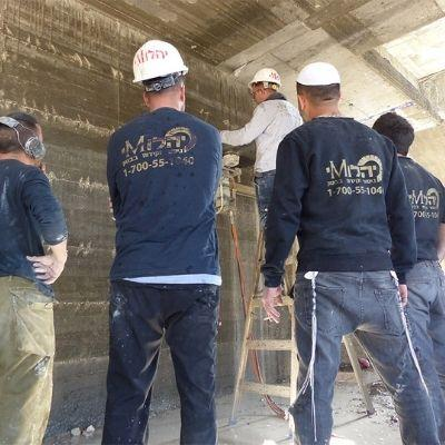 צוות יהלומי ניסור בטון