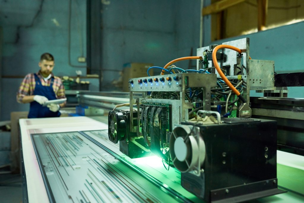 Modern CNC Equipment at Factory